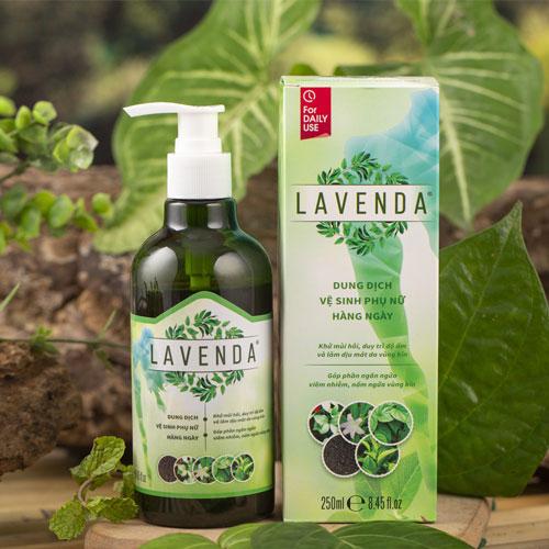 Dung dịch vệ sinh phụ nữ Lavenda