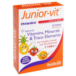 HealthAid Junior-Vit Chewable Tablets
