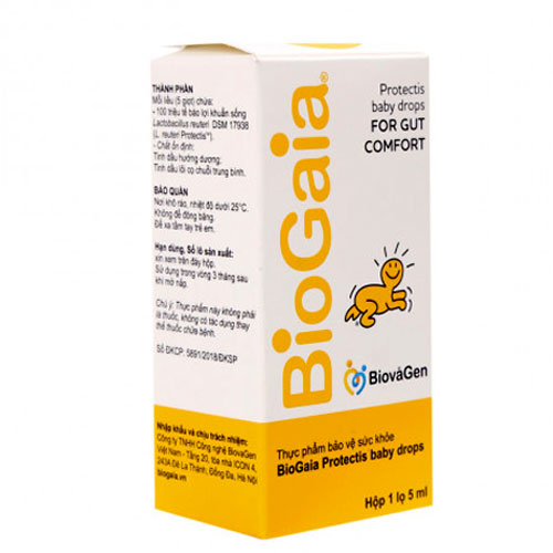 Hộp BioGaia Protectis Baby drops For Gut Comfort