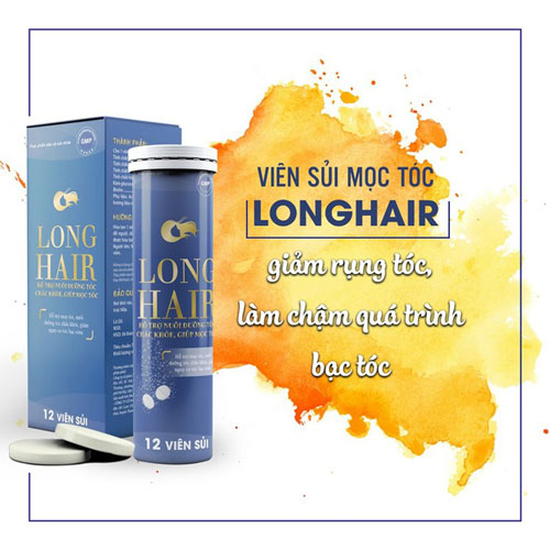 Viên sủi Long Hair