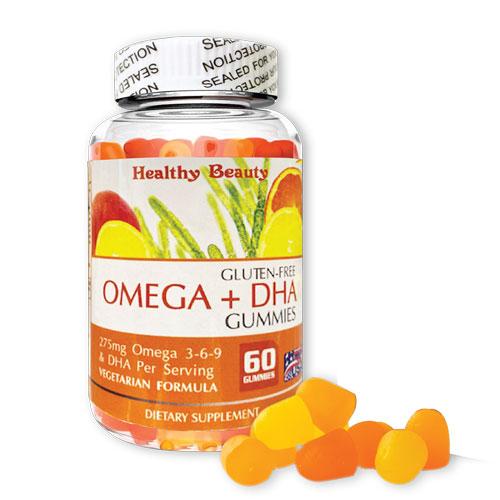 Omega + DHA Gummies