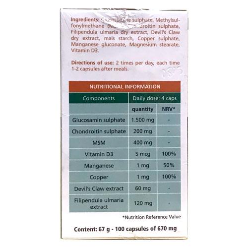 Thành phần Glucosamin Artroflex