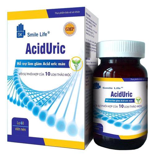 Viên uống Acid Uric