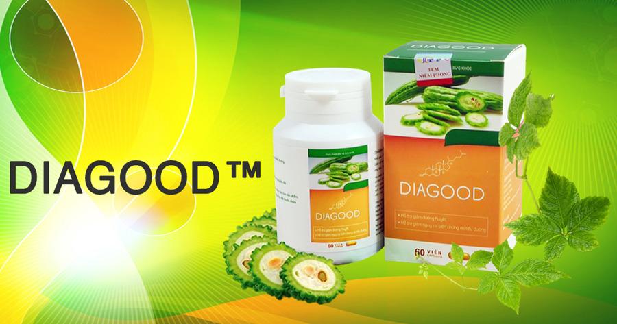 Hình ảnh sản phẩm Viên uống Diagood có bán trên thị trường