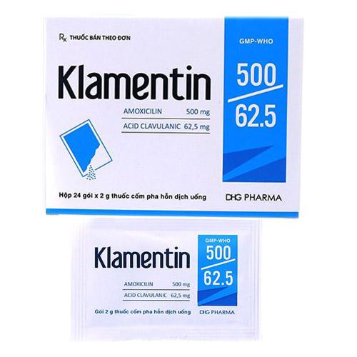 Klamentin 500/62.5