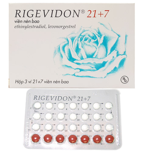 Thuốc ngừa thai Rigevidon 21+7