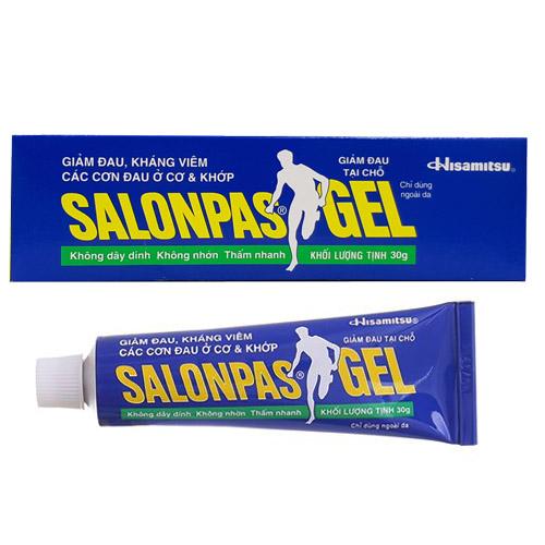 Gel giảm đau Salonpas gel