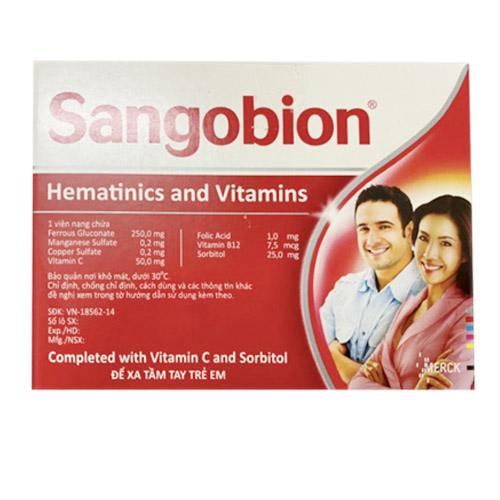 Thuốc bổ máu Sangobion