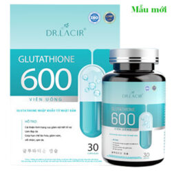 Viên uống Glutathione 600