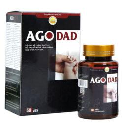 Ago Dad, hỗ trợ bổ thận, ích tinh, tăng cường sức khỏe nam giới