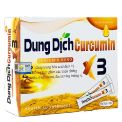 Dung dịch Curcumin X3
