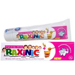 Gel ngừa sâu răng Raxinic