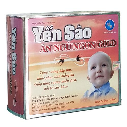 Yến Sào Ăn Ngủ Ngon Gold
