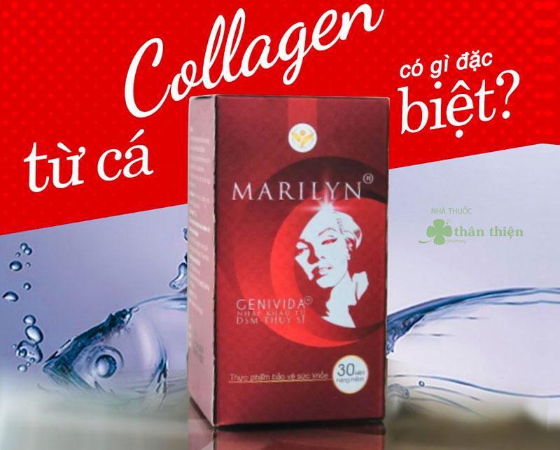 Viên Uống Marilyn Plus, hỗ trợ hạn chế và làm giảm nguy cơ lão hóa da
