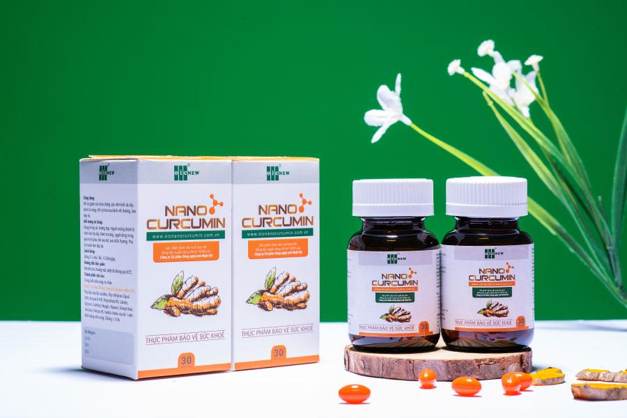 Nano Curcumin OIC (viên nang), hỗ trợ giảm các triệu chứng viêm loét dạ dày
