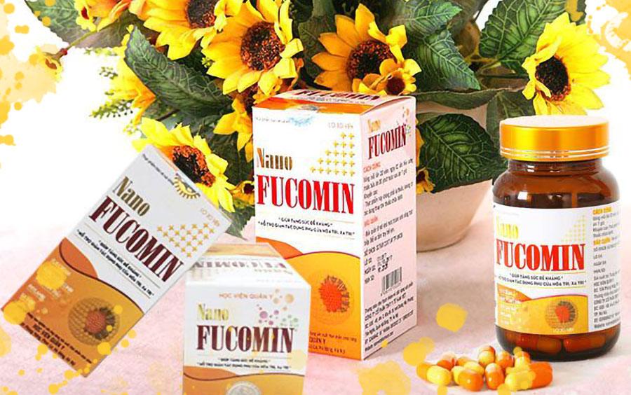 Nano Fucomin, hỗ trợ làm giảm tác dụng phụ của hóa trị, xạ trị