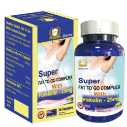 Super Fat To Go Complex With Forskolin