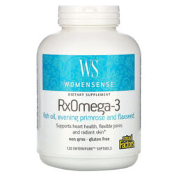 WomenSense RxOmega-3 Fish Oil with Evening Primrose and Flaxseed