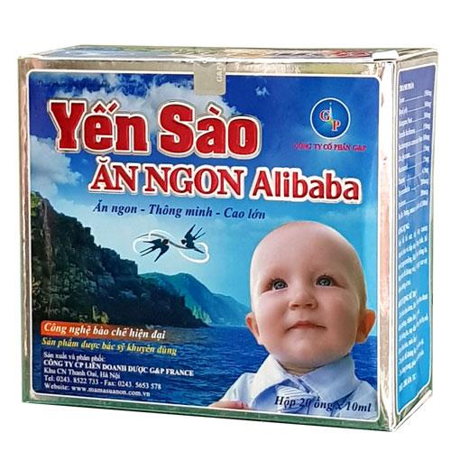Hộp Yến Sào Ăn Ngon Alibaba