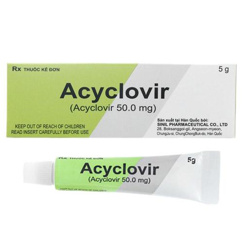 Acyclovir Sinil 5g