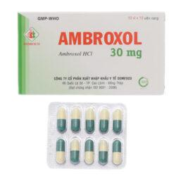 Thuốc tiêu đờm Ambroxol