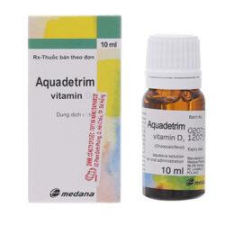 Dung dịch uống Aquadetrim Vitamin D3