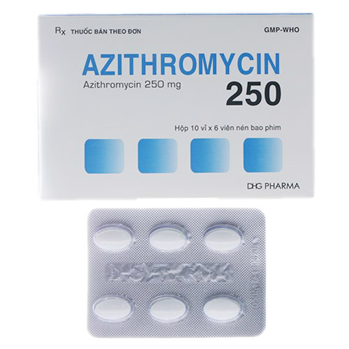 Thuốc Azithromycin 250mg