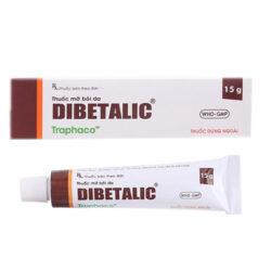 Thuốc mỡ bôi da Dibetalic 15g
