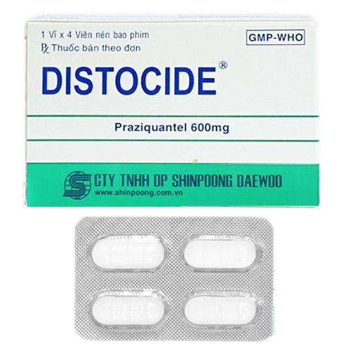 Thuốc trị giun sán Distocide