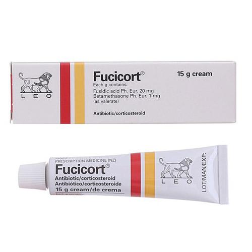 Kem trị viêm da Fucicort