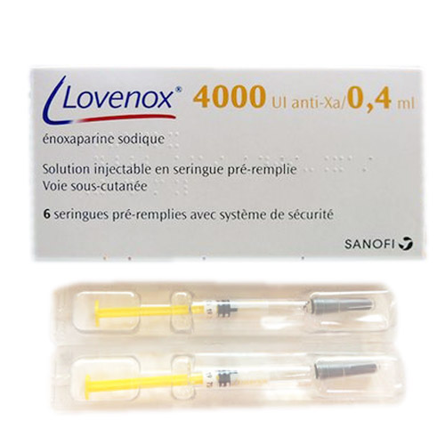 Thuốc tiêm Lovenox