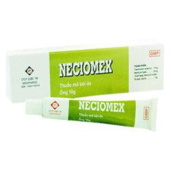 Thuốc mỡ bôi da Neciomex