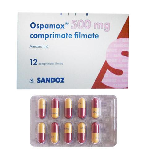 Thuốc Ospamox 500mg