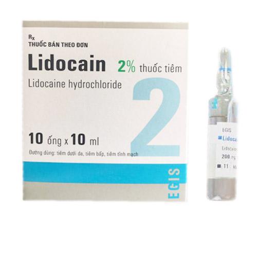 Thuốc tiêm Lidocain 2%