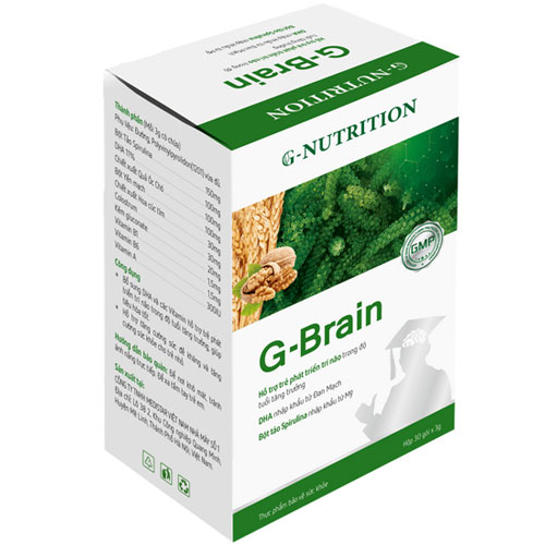 Hộp Cốm sữa tảo non G-Brain