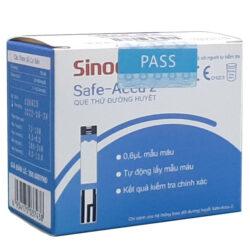 Que thử đường huyết Sinocare safe accu 2