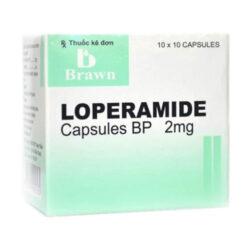 Thuốc Loperamide Capsules BP