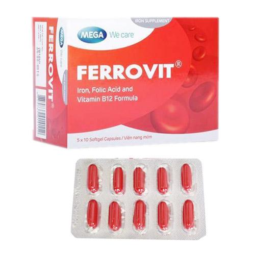 Thuốc bổ máu Ferrovit