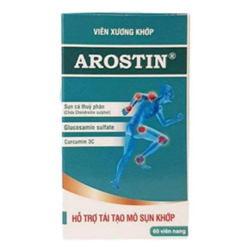 Vỏ hộp Viên xương khớp Arostin