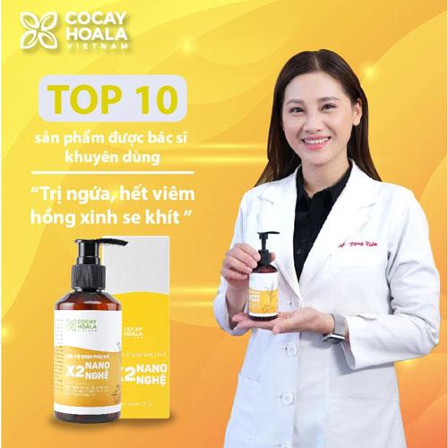 Bác sĩ khuyên dùng Gel vệ sinh phụ nữ X2 Nano Nghệ