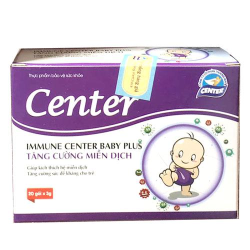 Immune Center Baby Plus tăng cường miễn dịch