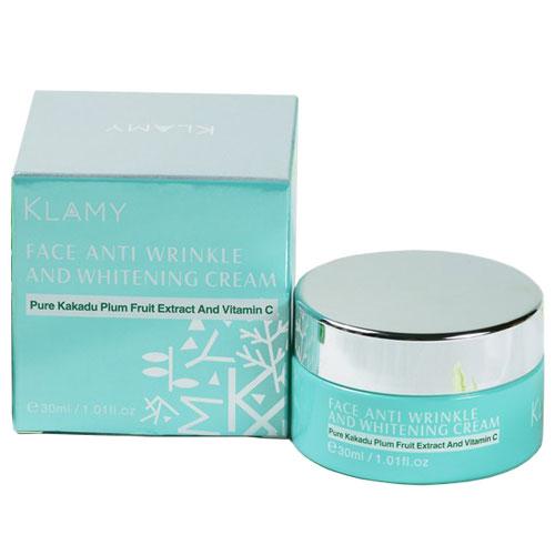 Klamy face anti wrinkle and whitening cream