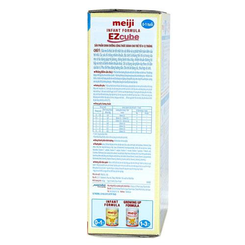 Công dụng sữa Meiji Infant Formula EZcube
