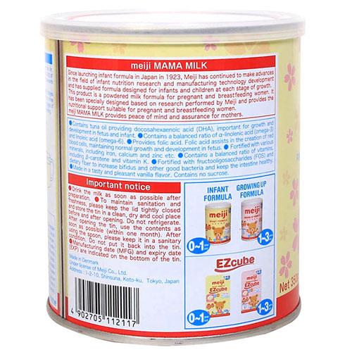 Công dụng Meiji Mama Milk
