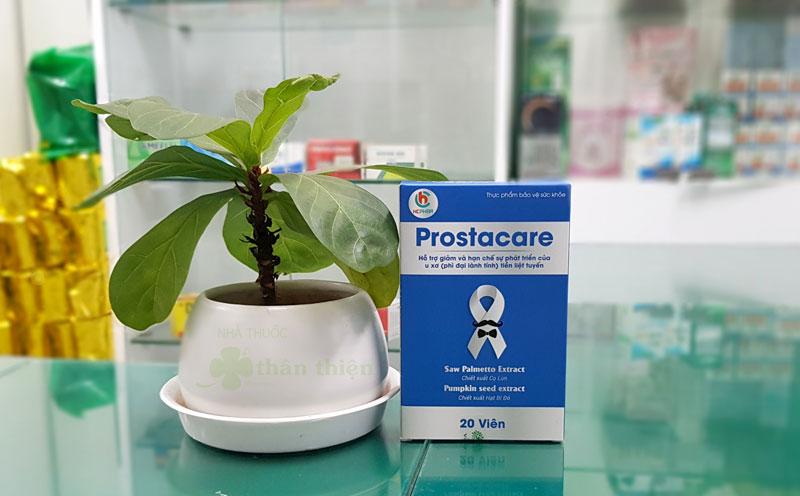 Tiền liệt tuyến Prostacare, hỗ trợ giảm và hạn chế sự phát triển của u xơ