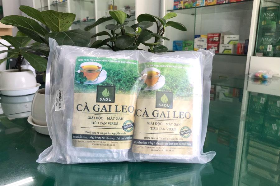 Trà cà gai leo Hoà Tan Sadu 600gram, sản phẩm hoàn toàn tự nhiên