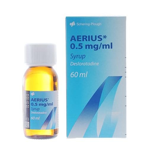 Siro Aerius trị viêm mũi