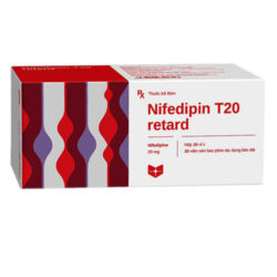 Thuốc Nifedipin T20 retard