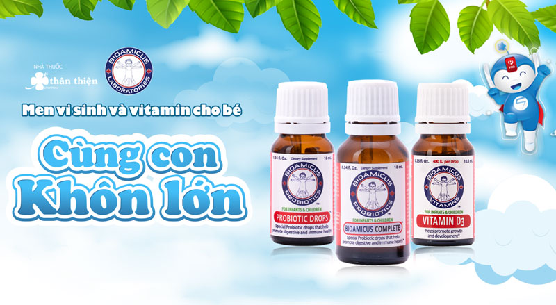 Bioamicus & Vitamin, hỗ trợ duy trì hệ miễn dịch khỏe mạnh