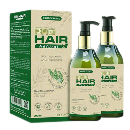 Dầu gội pro hair natural